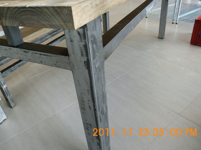 Exceptional What Has Been Very Popular Is Our Rustic Look Design On The Steel Work Such  As Above And Adjacent. We Can Also Chrome The Units Or Powder Cote  Depending On ...
