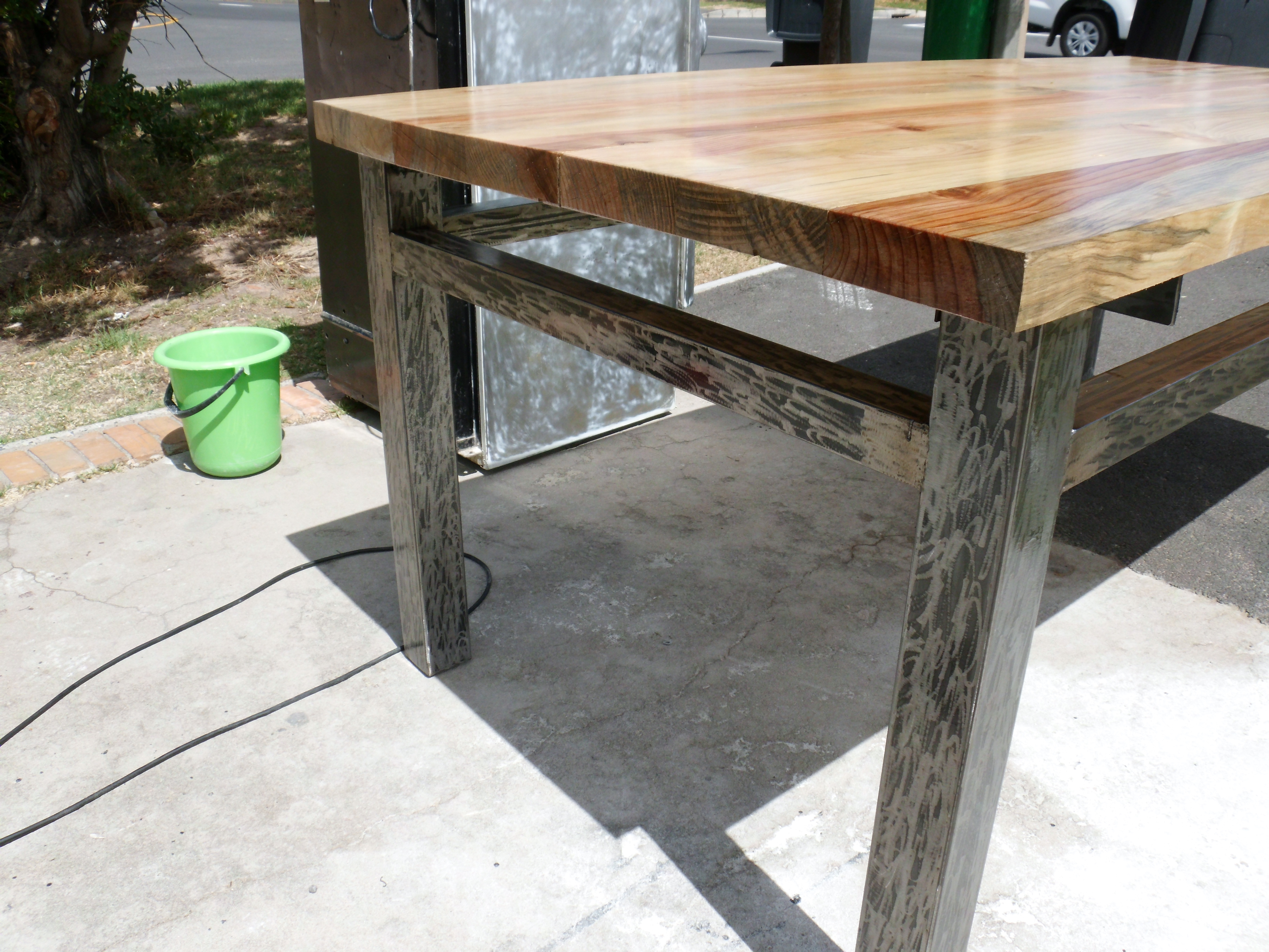 Exceptionnel ... Tube Steel Table Legs Choice Image Table Decoration Ideas  Watchthetrailerfo Tube Steel Table Legs Images Table ...
